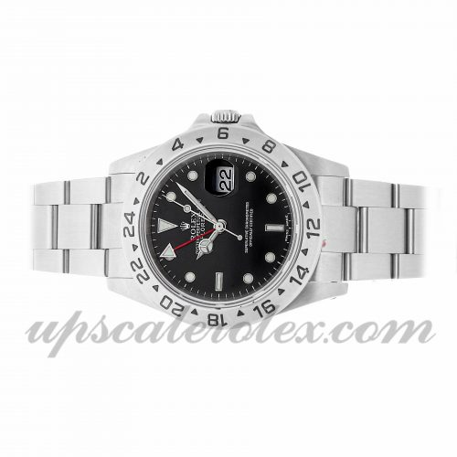 Replica Luxury Watches Rolex Explorer Ii 16570 40mm Black Dial
