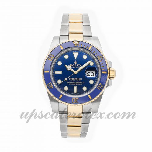 Best Swiss Replica Watches Rolex Submariner 116613lb 40mm Blue Dial