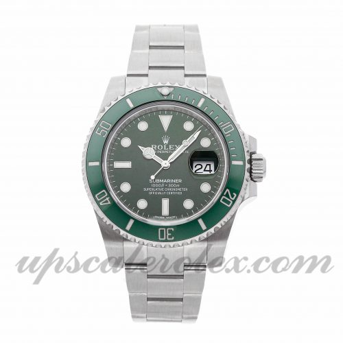 Fake Rolex Watch Rolex Submariner 116610lv 40mm Green Dial