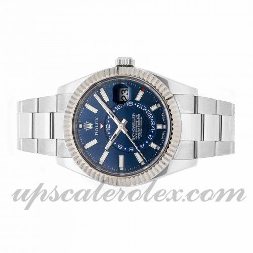 Fake Watch Rolex Sky-dweller 326934 42mm Blue Dial