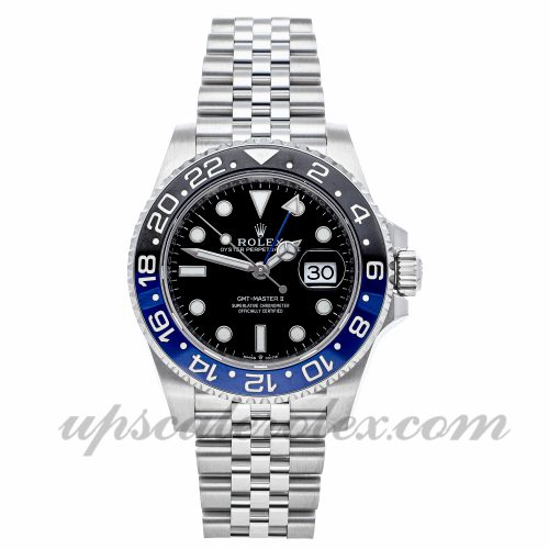 Watch Replicas Online Free Rolex Gmt-master Ii 126710blnr 40mm Black Dial