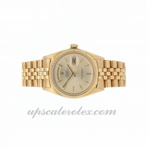 How To Spot A Fake Rolex Rolex Day-date 1803 36mm Champagne Dial