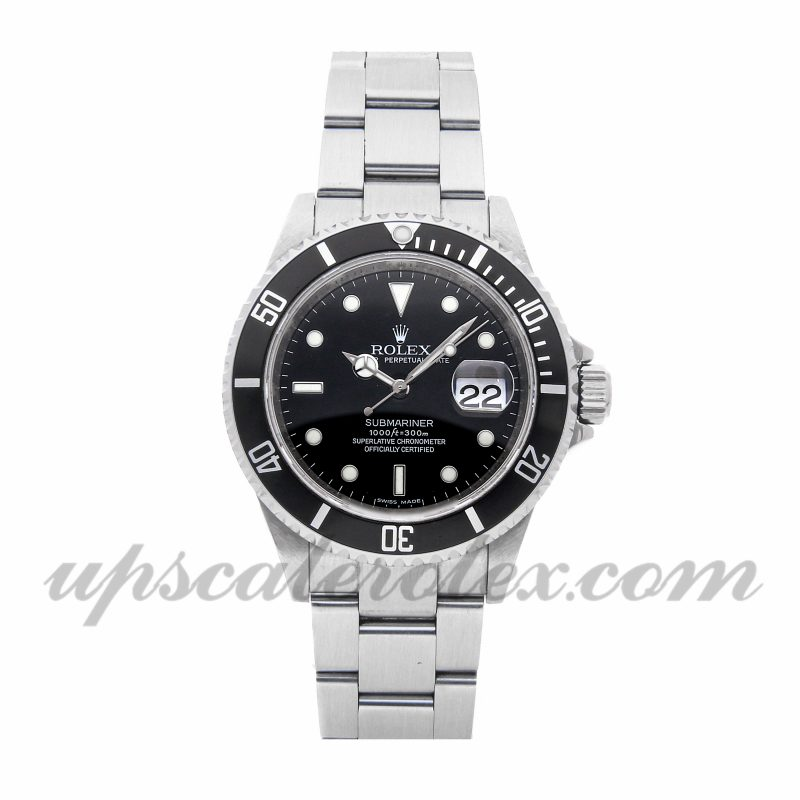 Where To Buy Fake Rolex Rolex Submariner 16610 40mm Black Dial