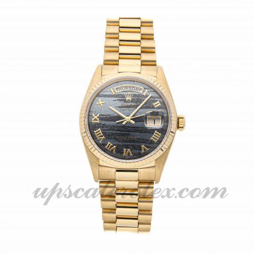 Best Replica Watches Rolex Day-date 18038 36mm Black Dial