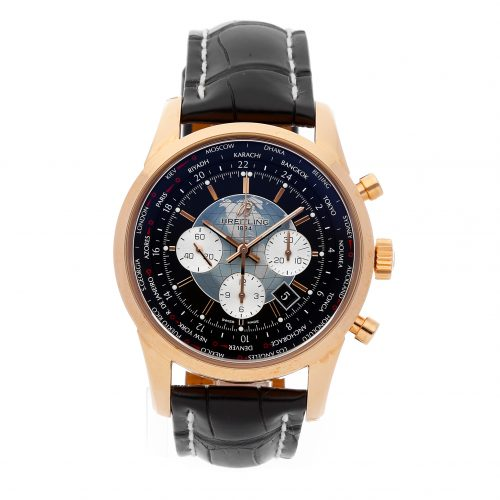 Fake Gold Watches Breitling Transocean Chrono Unitime Rb0510u4/Bb63