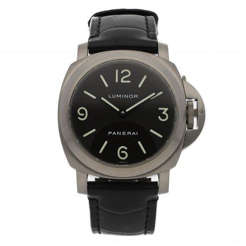 panerai watch replica Panerai Luminor Base PAM 55