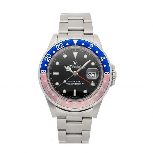 Rolex Replicas Swiss Made Grade 1 Rolex Gmt-master Ii 16710 40mm Black Dial