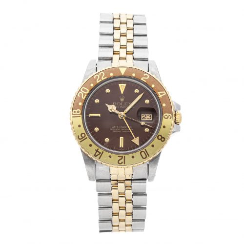 Replica Watches For Sale In Usa Rolex Gmt Master 16753 40mm Brown Dial
