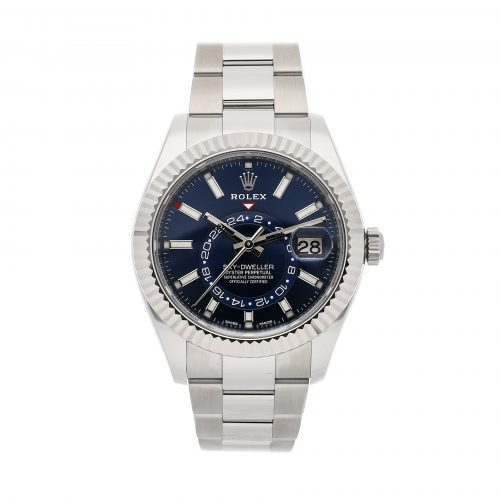 Fake Rolex Ebay Rolex Sky-dweller 326934 42mm Blue Dial