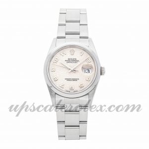 Mens Rolex Datejust 16200 36mm Case Mechanical (Automatic) Movement Ivory Dial