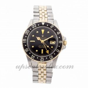 Mens Rolex Gmt Master 16753 40mm Case Mechanical (Automatic) Movement Black Dial