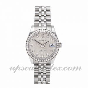 Champagne Dial Mens Rolex Datejust 16233 Mechanical Movement 36mm Case