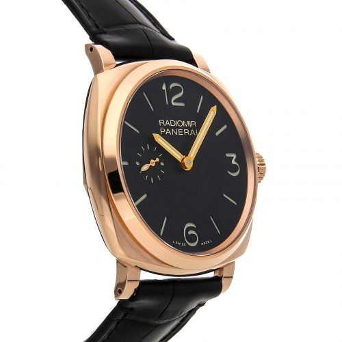 Panerai Watches Replica Panerai Radiomir 1940 3-days Oro Rosso Pam 575