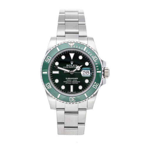 "Fake Presidential Rolex Rolex Submariner ""Hulk"" 116610lv"