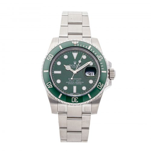 "Best Replica Watch Site Rolex Submariner ""Hulk"" 116610lv"