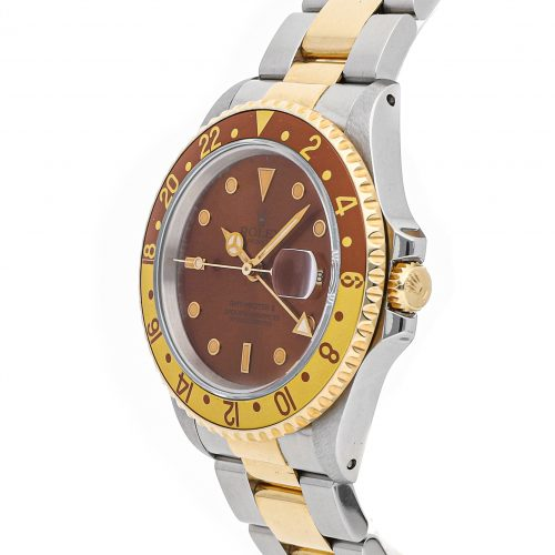 """Fake Presidential Rolex Rolex Gmt Master Ii """"Rootbeer"""" 16713"""