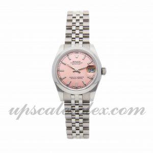 Ladies Rolex Datejust 178204 31mm Case Mechanical (Automatic) Movement Pink Dial