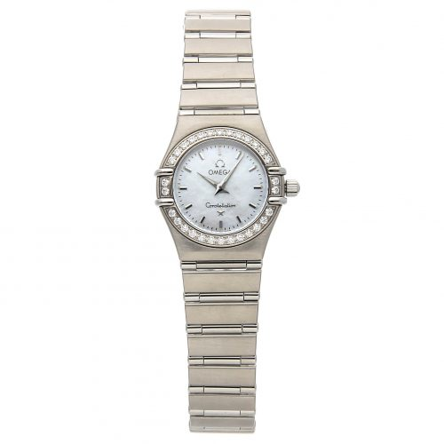 Ladies Silver Replica Omega Constellation '95 1466.71.00 Stainless Steel