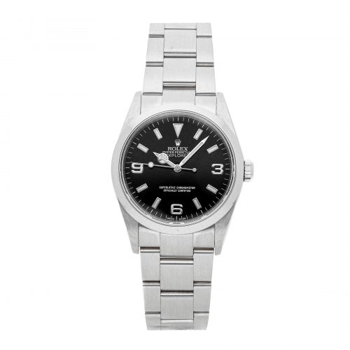 Men Dial black Replica Rolex Explorer 114270 Case 36mm Stainless Steel