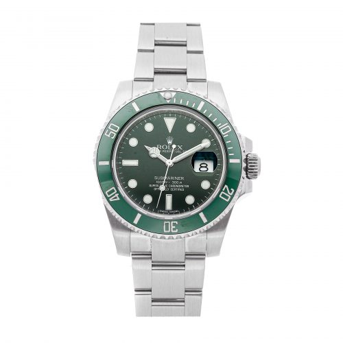 Casual Men Silver Replica Rolex Submariner Hulk 116610lv Mechanical Automatic