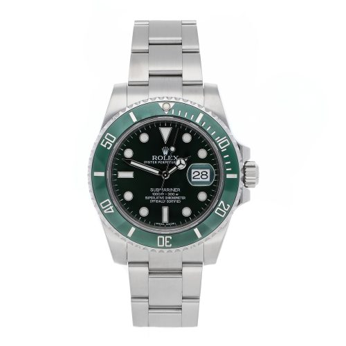"Men Green Replica Rolex Submariner ""Hulk"" 116610LV Stainless Steel"