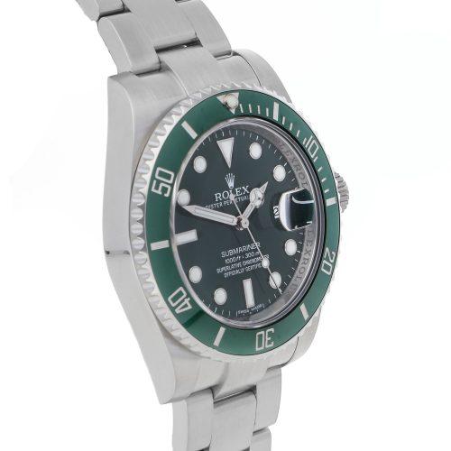 "Men Green Replica Rolex Submariner ""Hulk"" 116610LV Stainless Steel"