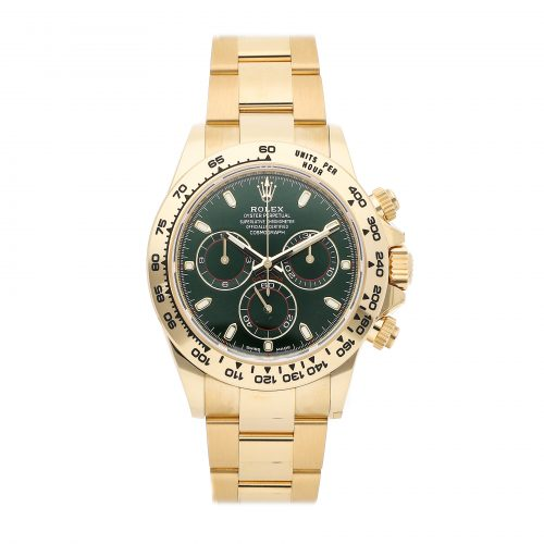 Yellow Gold Men Replica Rolex Daytona 116508 Mechanical Automatic