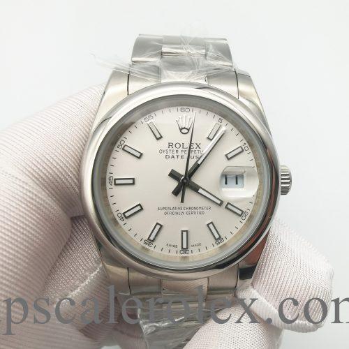 Rolex Datejust 126300 Men's 41 Silver Dial Oystersteel Watch