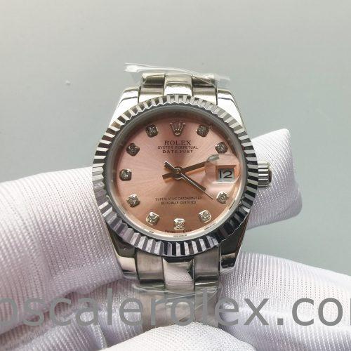Rolex Datejust 178271 Eve Gold Midsize Steel Diamond Ladies Watch