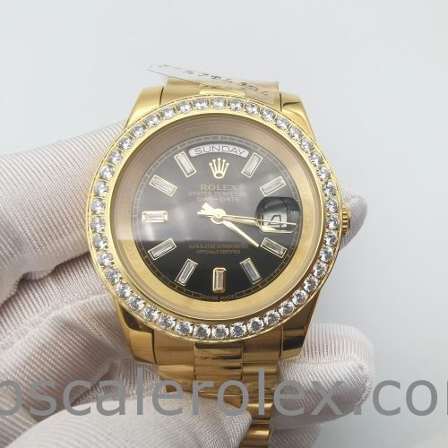 Rolex Day-Date 228348RBR 40 mm 18k Gold With Diamonds Automatic