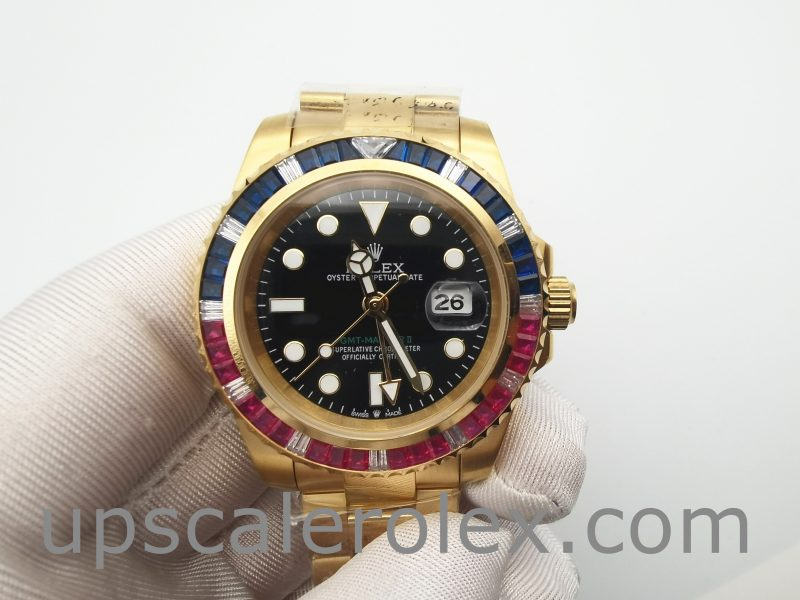 Rolex GMT-Master II 116748 Yellow Gold Unisex Automatic 40mm Watch