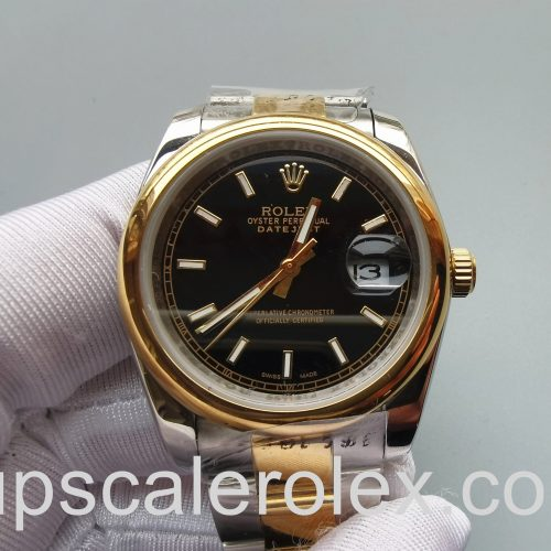 Rolex Datejust 126303 Black 41mm Stainless Steel Automatic watch