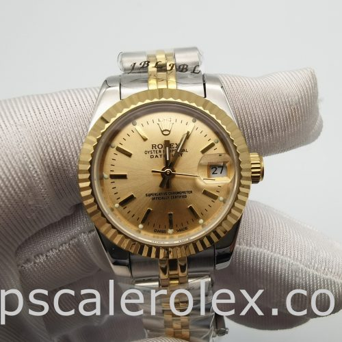 Rolex Datejust 179173 Ladies 26 mm Gold Stainless Steel Automatic Wathc