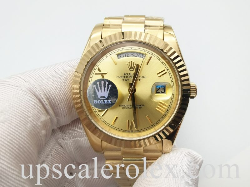 Rolex Day-Date 228238 Yellow Gold 40 mm Unisex Automatic Steel Watch