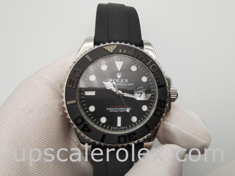 Rolex Yacht-Master 226659 Mens 42mm Black Folding Automatic Watch