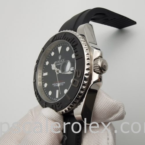 Rolex Yacht-Master 226659 Mens 42mm Black Folding Automatic Watchter 226659 Mens 42mm Black Folding Automatic Watch