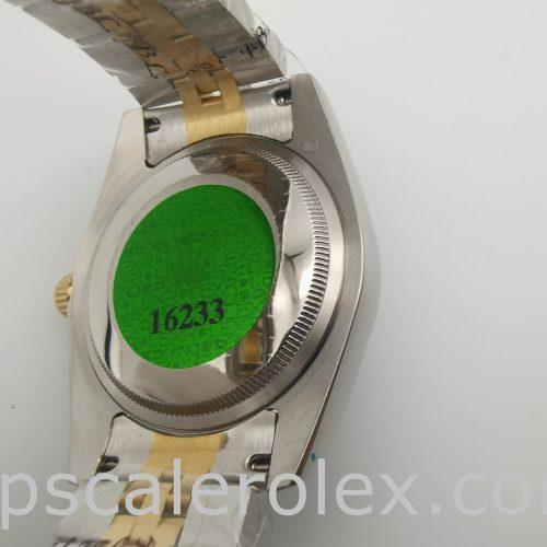 Rolex Datejust 116233 Women 36 mm White Steel Automatic Watch