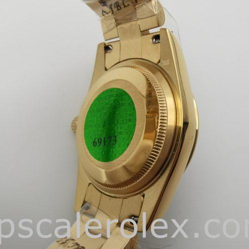 Rolex Datejust 68278 E 18k Yellow Gold 31mm Automatic Watch