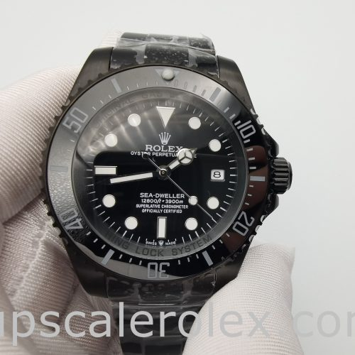 Rolex Sea-Dweller 116660 Automatic Black Stainless Steel 44 mm Watch