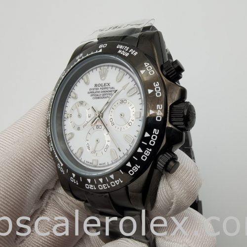 Rolex Daytona 116500 Mens 40mm Steel Automatic White Dial Watch