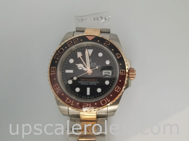Rolex GMT-Master 126711 Mens 40mm Steel Automatic Black Dial Watch