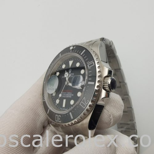 Rolex Sea-Dweller 126600 Round 43mm Black Steel Swiss Automatic Watch