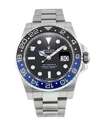 Rolex GMT-Master II 116710 Mens Black Dial 40mm Automatic Watch