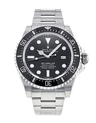 Rolex Sea-Dweller 116600 Mens Steel 40mm Black Dial Automatic Watch