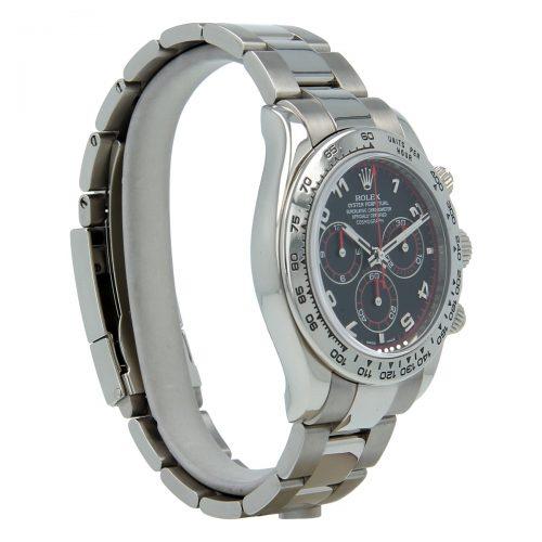 Rolex Daytona 116509 White Gold Steel 40mm Sapphire Watch