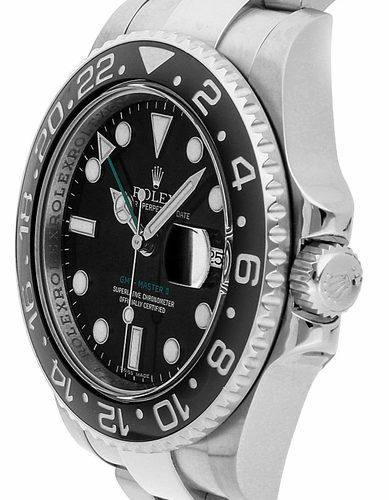 Rolex GMT-Master II 116710LN Black Mens 40mm Automatic Watch